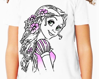 Disney's Tangled: Rapunzel Children's T Shirt