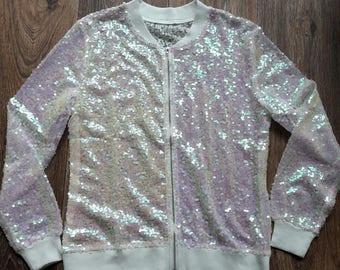 Sequin Jacket UNICORN MESH