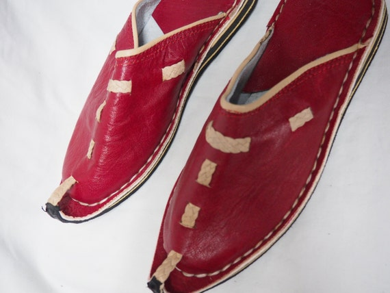 bohemian leather shoes moroccan leather shoes moroccan