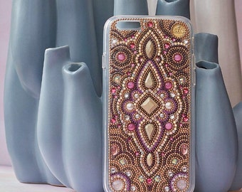 iphone 7 plus case handmade iPhone 6/6 plus case gold iphone 7 samsung galaxy s7 fashion chic phone cases