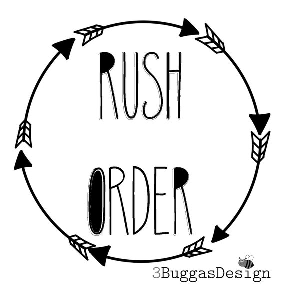 ADD RUSH handling to entire order