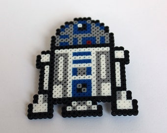 R2D2 - Star Wars - Mini Perler Beads