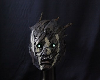 Glowing eyes Dead by daylight Inspired Wraith mask wearable cosplay