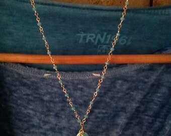 Chain of the Rosary of Turquoise and the pendant promotion