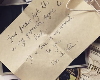 Selection of Dumbledore's Letters to Harry Potter