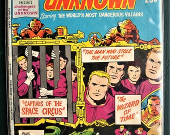 Super DC Giant, Challengers of the Unknown #S-25, 1971! VF+