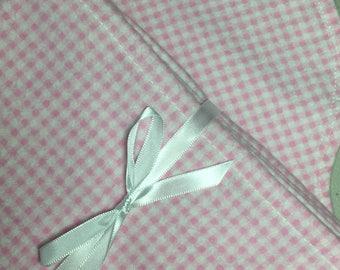 Blanket, Burp Cloth and Bonus Gift Set