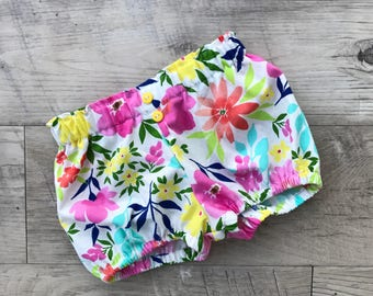 Baby bloomers/bloomers/baby shorts/summer baby bloomers/diaper cover/baby diaper cover/floral baby bloomers/summer bloomers/