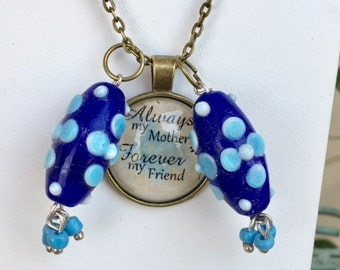 "Always My Mother with Charms 24"" Necklace"