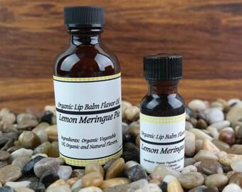 Lemon Meringue Pie Flavor Oil For Lip Balm • Organic • Vegan • DIY Lip Balm •