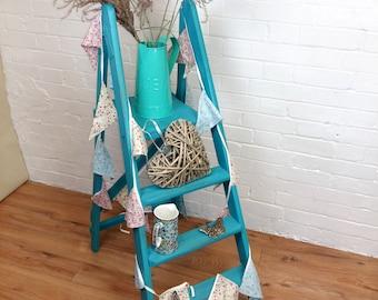 Vintage Blue Decorative Garden Ladder