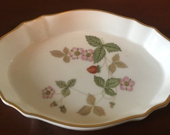 Wedgwood Wild Strawberry Silver Tray/ Pin Dish