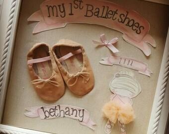 my first ballet shoes keepsake box