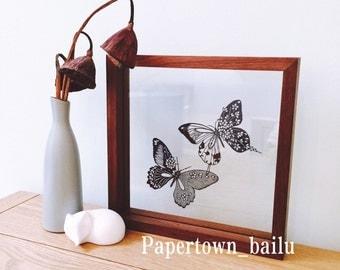 Original Butterfly Handcut Papercut