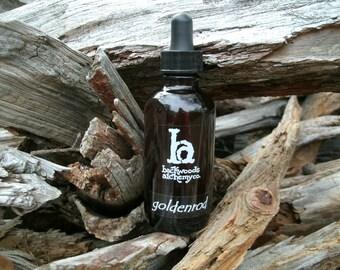 Goldenrod Tincture, 1oz or 2oz Bottle