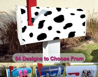 Cow Theme Magnetic Mailbox Cover