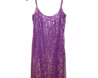 Alfred Angelo Sequin Dress, Silk, Size 6, Stunning!