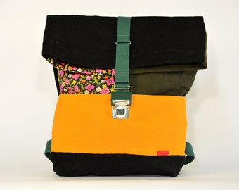 THE 50. Backpack large / Upcycling bagpack