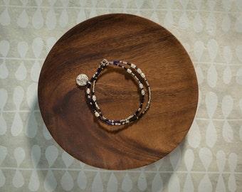 Bracelet with Blank Charm