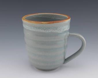 Ceramic Mug, Handmade Mug, Ceramic Coffee Mug, Coffee Cup, Studio Pottery Mug, Wheelthrown, 12 oz