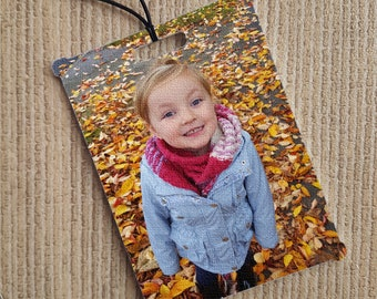 Personalised In-Car Air Freshener Custom Photo Gift