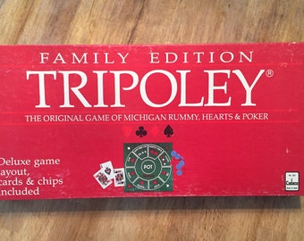 1991 Complete Family Edition Tripoley by Cadaco No 225