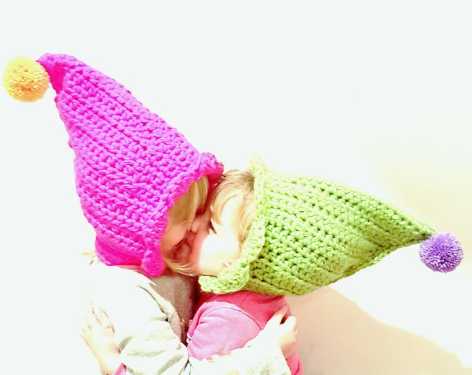 Pixie Hat UK Crochet Pattern PDF download