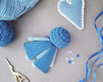 Crochet Sleepy Moth Doll Amigurumi Toy