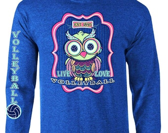 Volleyball OWL - Volleyball Long Sleeve T-shirt