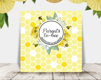 Printable Mommy-to-Bee Banner