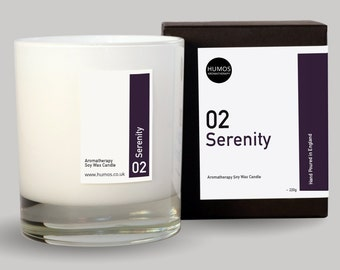 Serenity™ Aromatherapy Treatment Candle (1 wick)