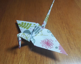 20 Origami Crane Wedding Favors Baby Girl P1/12