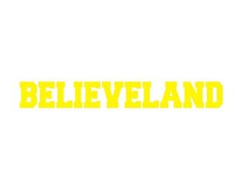 Cleveland Cavaliers Decal Etsy - Custom vinyl decals cleveland ohio