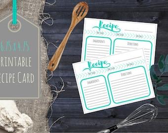 Recipe Card (6.75 x 4.75)