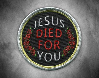Jesus Died Patch