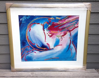 Peter Max Signed Lithograph Print