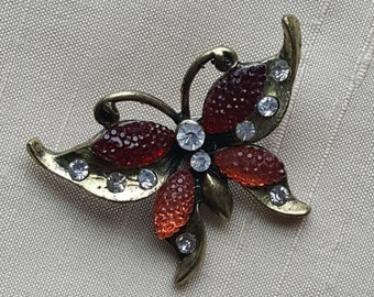 Vintage Butterfly Magnetic Pin