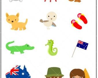 Australia Day - Planner Stickers
