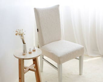 Set of 2 Beautiful Dining Chair Covers - Stretch Spandex - Dining Room - Wedding