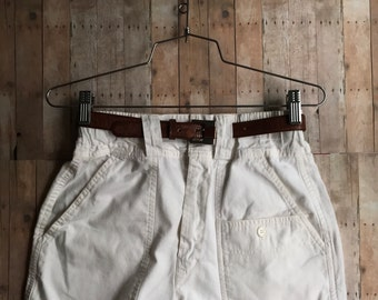 High Rise Cut-Off Cargo Vacation Short