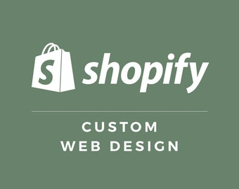 Shopify Custom Web Design & Development