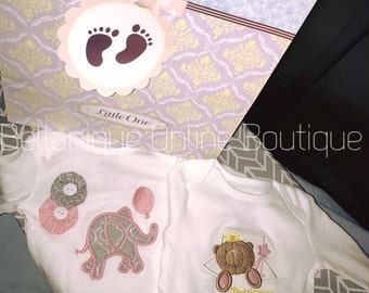 made-to-order: Applique/ Embroidered Onesies
