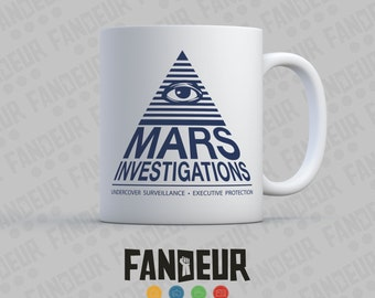 Mars Investigations Coffee / Tea Mug - Veronica Mars