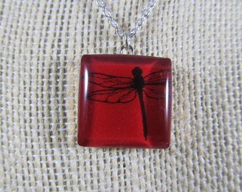 Beautiful dragonfly pendent