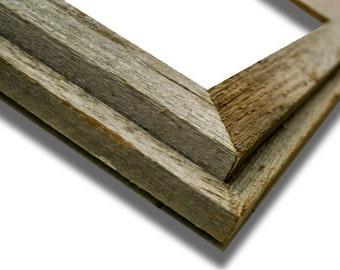 barnwood frame 8 x 10 double barn wood recycled repurposed reclaimed - Barnwood Frames
