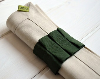 Linen towel, napkin, linen, napkin, serviettering, linen napkins