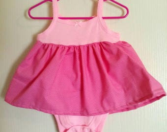 onsie empire dress for 6-9 month baby girl