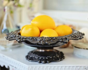 Reed and Barton Silver Plated Compote bowl dish dining living room serving dinner fruit dessert christmas-gift-idea gift wedding anniversary