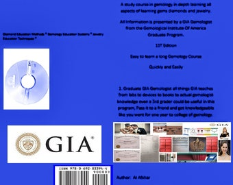 GIA Certified Course Gemologist Program 43 page Book DVD Ebook Download lesson