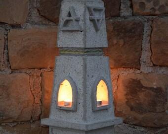 Four elements obelisk